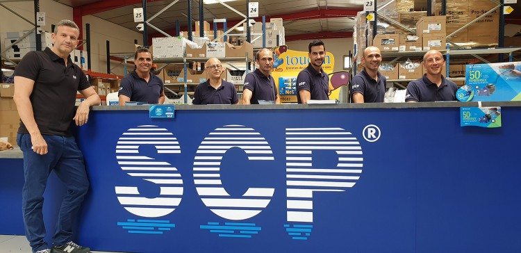 l'équipe de l'agence SCP Montpellier