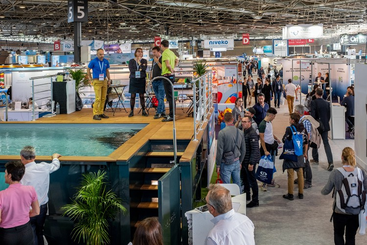 Piscine Global Europe 2018 salon piscine spa bien être
