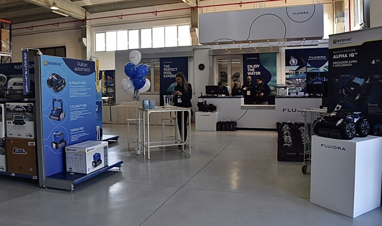 punto vendita B2B Fluidra Pro Center