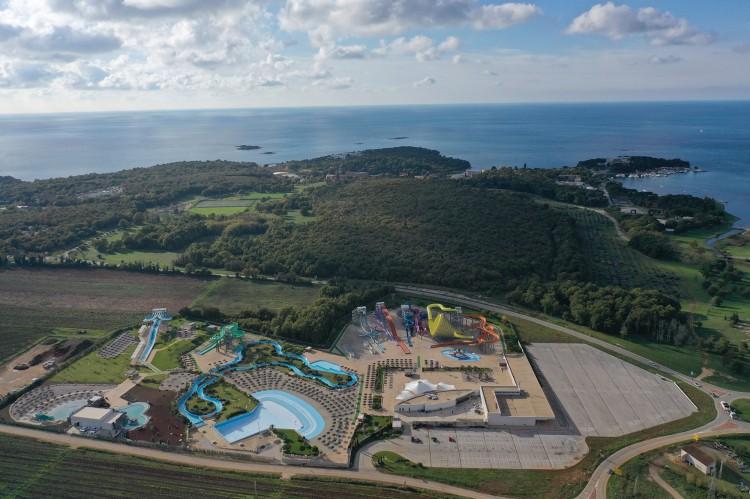Aquacolors water park in Porec Croatia bk mont scp adriatica