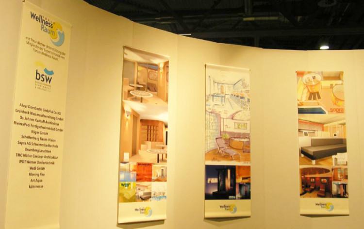 Insbesondere Architekten und Planer informierten  bsw-Sondershow ,,Forum Wellnessraum