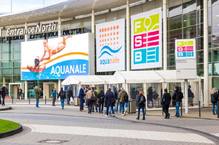 aquanale 2019 salon piscine sauna cologne 2019