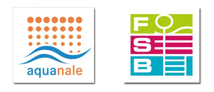 Logos aquanale and FSB