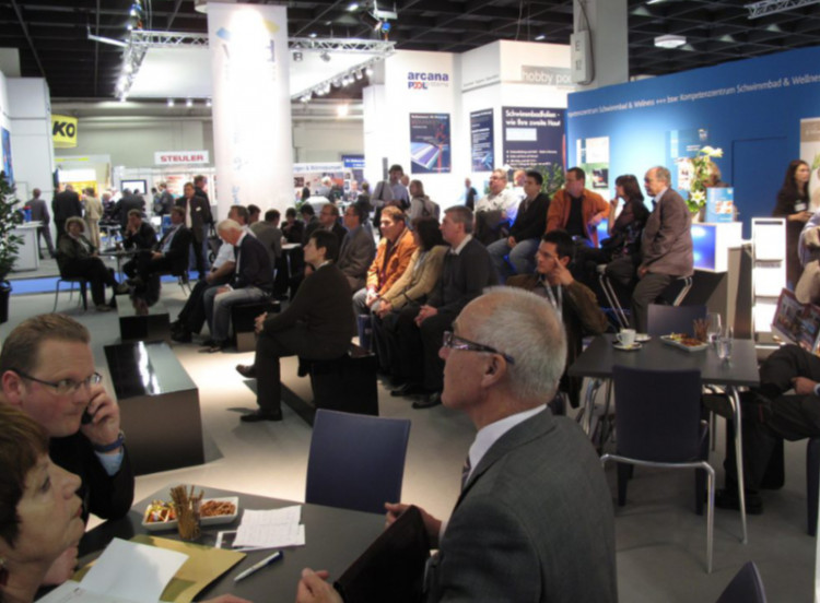 bsw aquanale-Messestand 2009