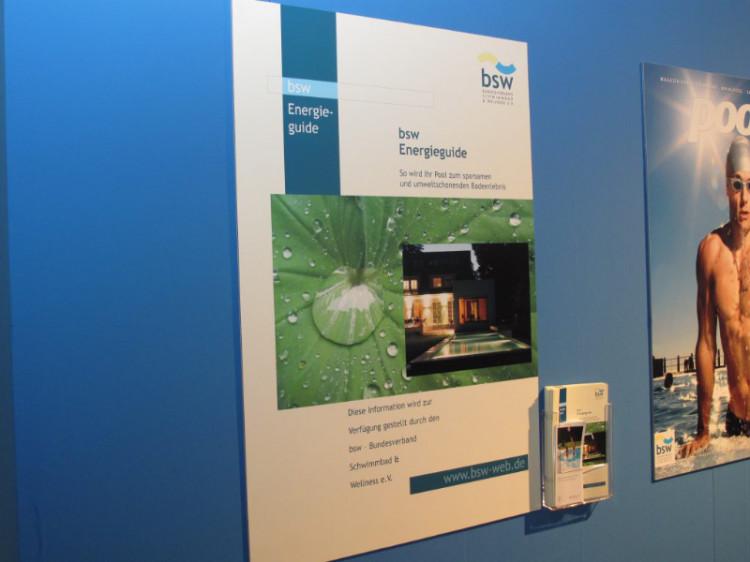 Der bsw-Energieguide für Privatkunden feierte auf der aquanale 2009