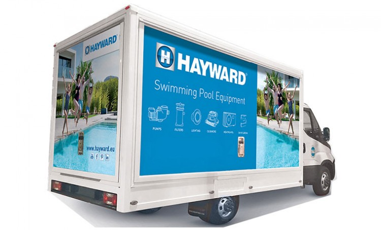camion « Mobile Training Center d'Hayward »