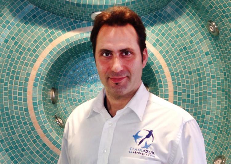 Magasin Clair Azur spa, sauna, hammam Philippe Rosès, Responsable du magasin Coignières