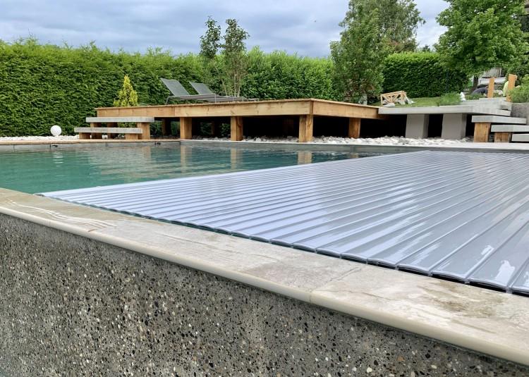 Couverture automatique de piscine T&A - Piscines Kaoli