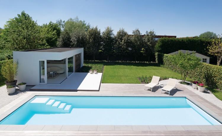 les modèles LPW Pools conviennent aussi bien aux petits jardins qu'aux installations intérieures