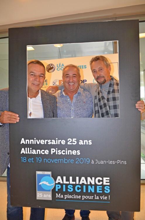 Roman Caravagna Horgues-Debat fondateurs de la marque de piscines coques Alliance Piscines
