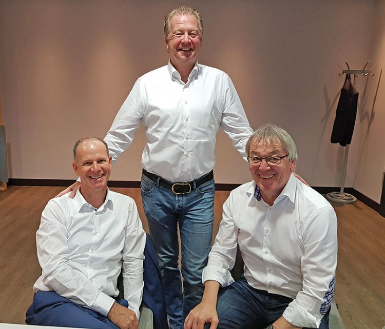 bsw-President Dietmar Rogg, bsw-Vice President Bert Granderath and bsw-Managing Director Dieter C. Rangol