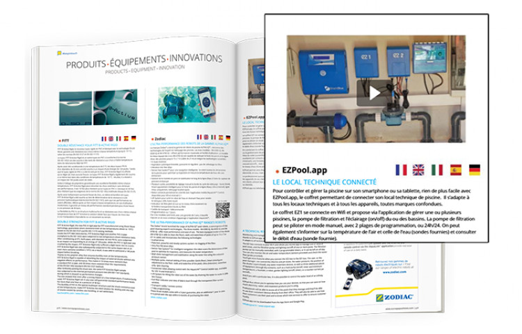 magazine piscine spa EuroSpaPoolNews Special Spring