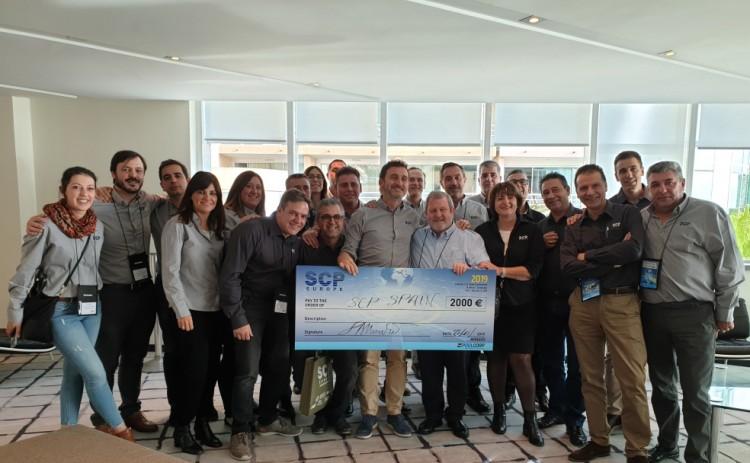 L'Espagne, Best Sales Center SCP Europe 2019