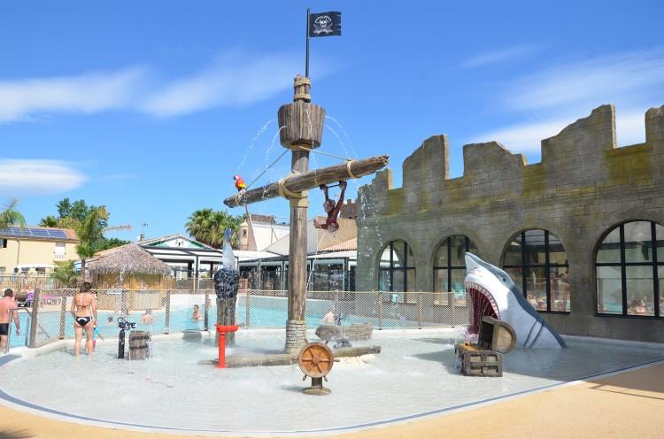Espace aqua-ludique interactif pour les enfants - Camping***** Californie-Plage