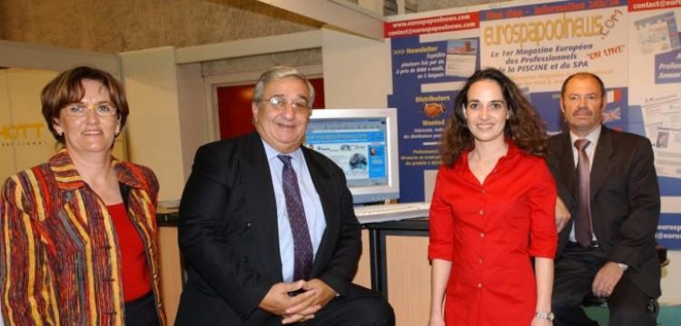 Denise Biagini, Henri Peruchon, Vanina et Loïc Biagini