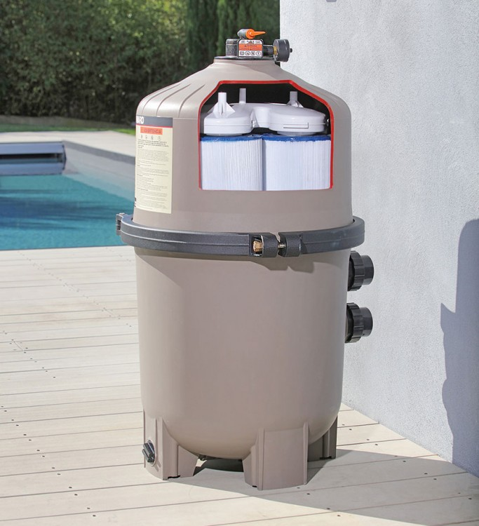 filtration piscine filtre Haward