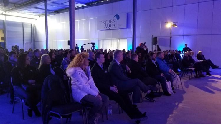 Séminaire conférences  distributeurs Dryden Aqua Suisse 2020