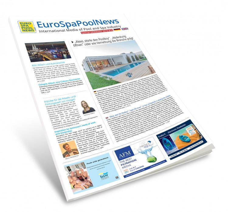 Journal Special Marché de la piscine Allemand