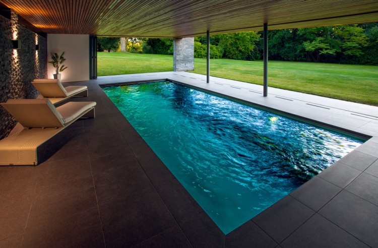 Gold Award - 2020 British Pool & Hot Tub Awards - Residential Indoor Pools category