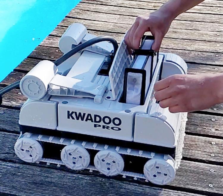 robot piscine KWADOO Pro de Water Robotic Company Europe