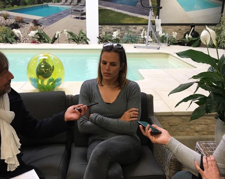 Laure Manaudou, égérie Mondial Piscine