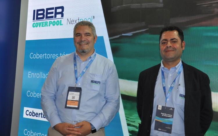 Léo PEREIRA y Francisco LUIS, técnicos comerciales IberCoverpool