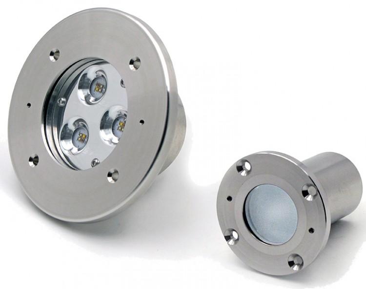 Mini e Micro Perla proiettore per la piscina di Teclumen