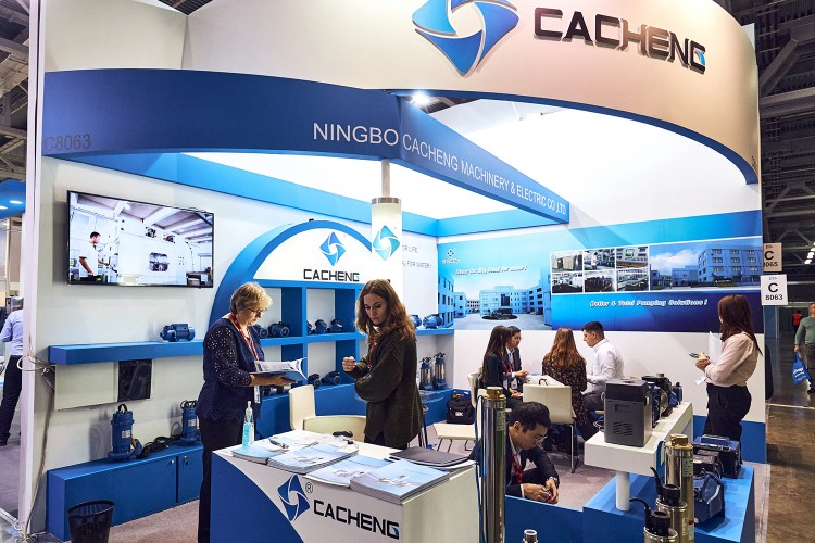 Ningbo stand at aquatherm Moscow 2020
