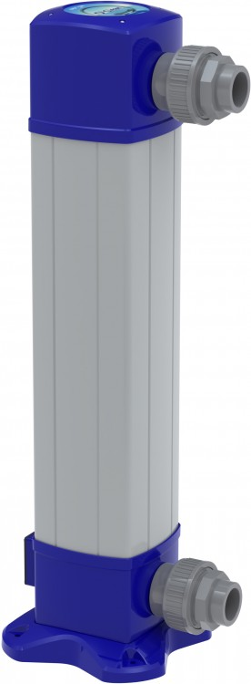 Système O'Clear de BIO-UV désinfection eau de piscine UV - électrolyse