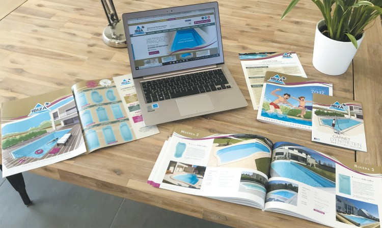 catalogues,site,web,outils,marketing,vente,piscines,ibiza