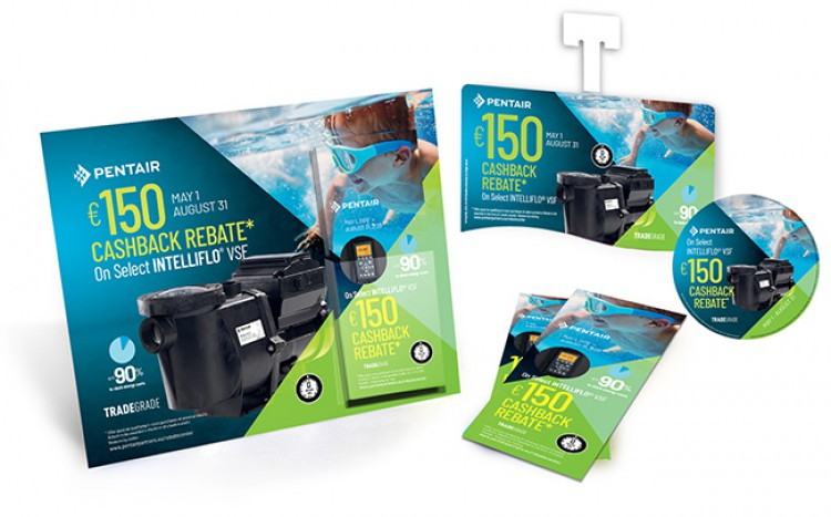POS kits for pool equipments Promotion 2019 PENTAIR