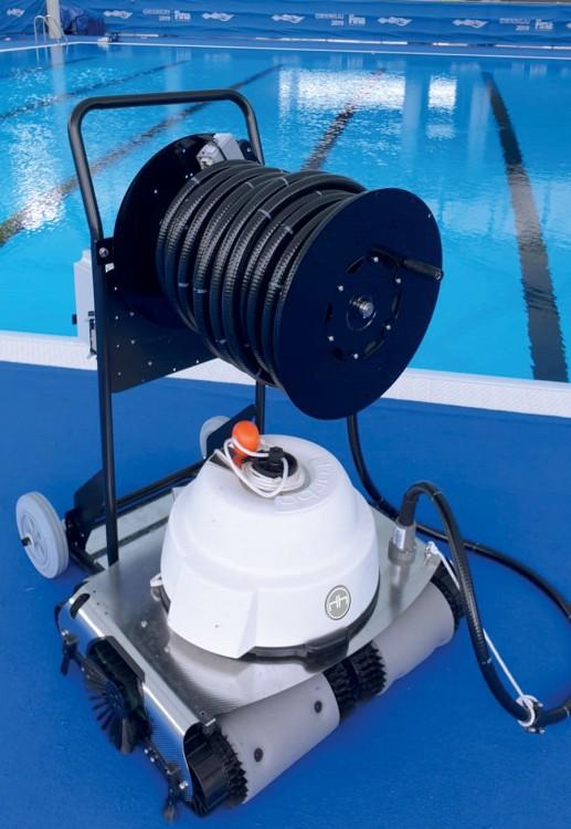 Schwimmbadreiniger Roboter Hexagone