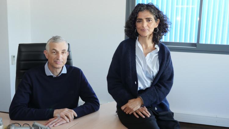 Une équipe parfaitement complémentaire à la tête de Pool Technologie : Philippe Grard et Sarah Guezbar