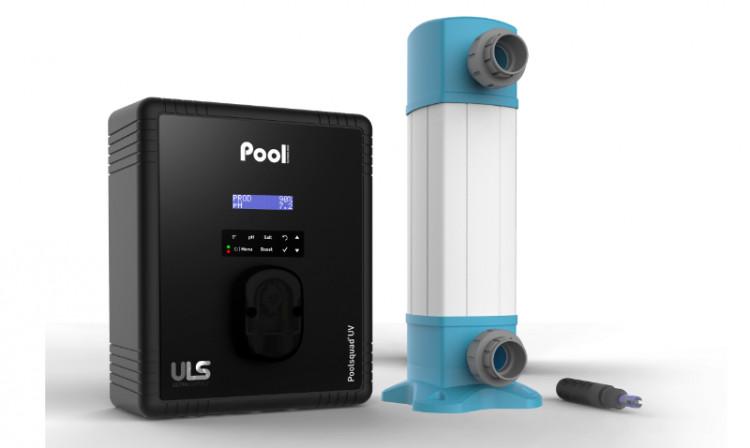 Poolsquad® UV, le réacteur UV et la sonde pH Black