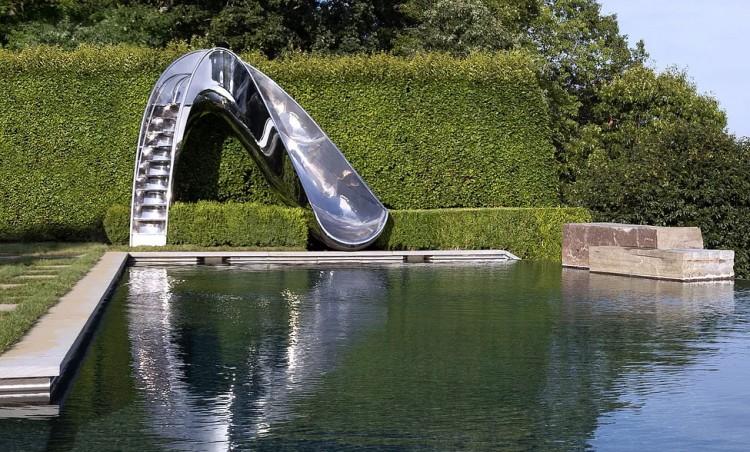 Reflex Water Slide by Splinter Works