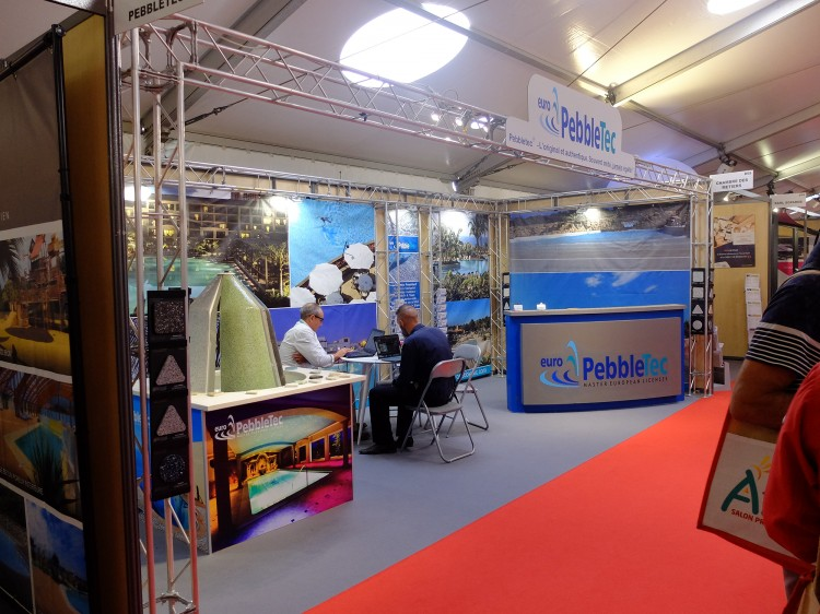 Stand Pebble Pro du salon Atlantica 2019