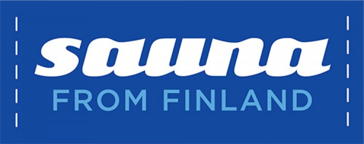 Logo bleu Sauna From Finland