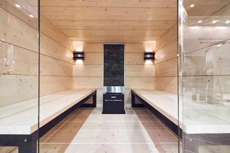 Harvia sauna at Aquatherm Moscow 2020