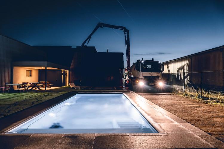 Showroom LPW Pools et de Covrex® à Aarschot