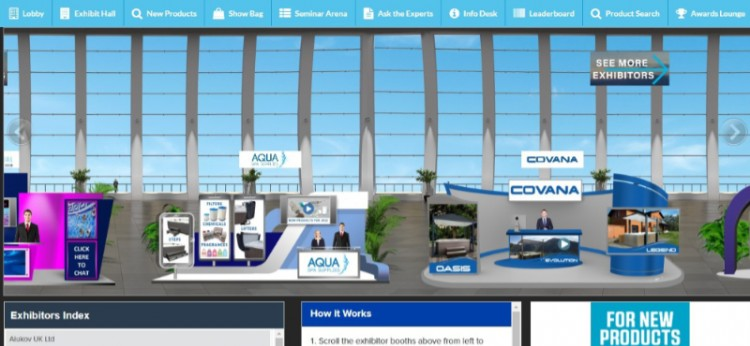 Spatex Virtual 2021 stands