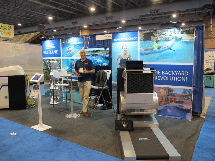 Stand Endless Pools salon Pool Spa Show 2020 Atlantic City piscine USA