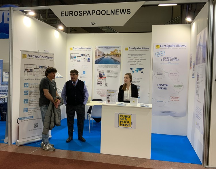 Stand EuroSpaPoolNews giornale Special ITALY ForumPiscine 2020