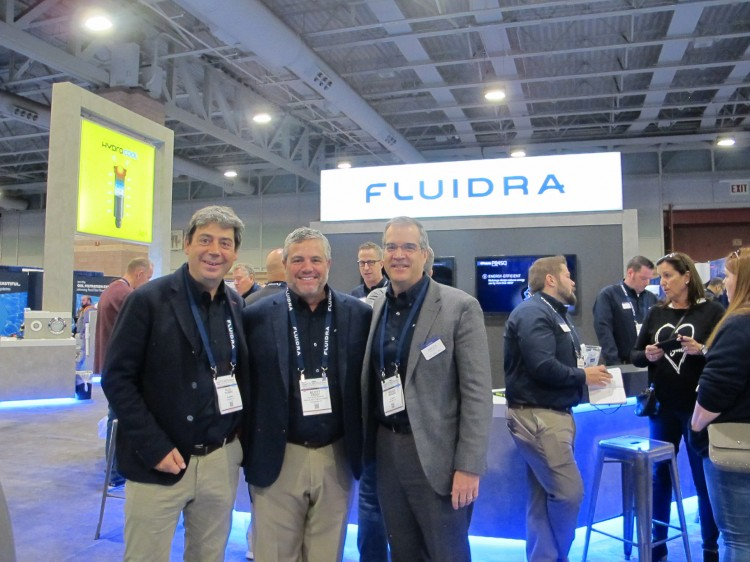 stand Fluidra Pool & Spa Show 2020 usa Atlantic City avec Eloi Planes