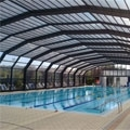 B. & O. Engeneering builds a large size public swimming-pool enclosure in the town of Ovada