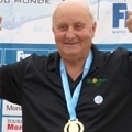 FINA World Masters water polo team Gold for Anti Wave founder