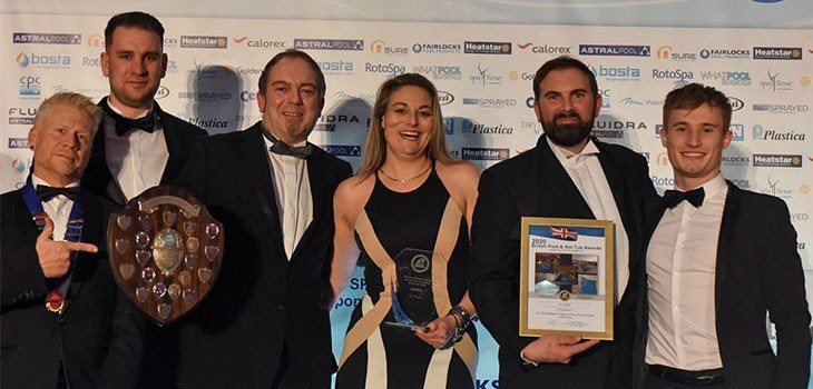 XL Pools awarded as SPATA's 2020 British Pool & Hot Tub Awards