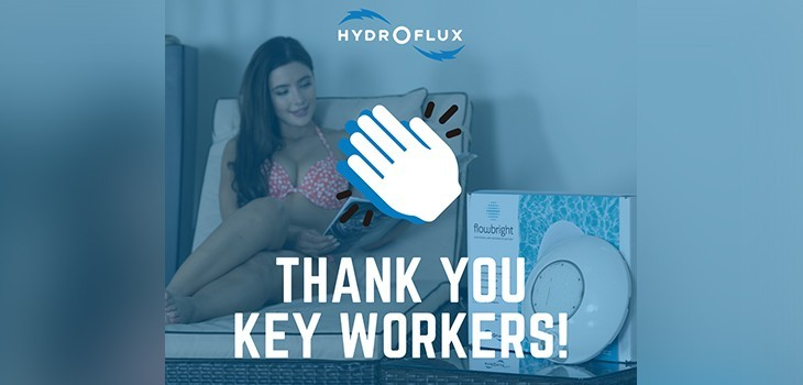 Hydro-Flux thanks key workers