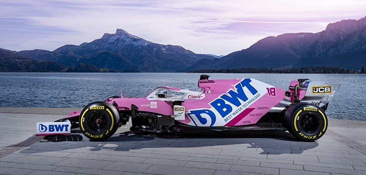 Formula,1,Car,Launch,2020,bwt,racing,point,team