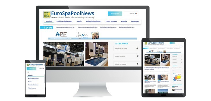 eurospapoolnews,nouveau,site,international,responsive,mobile,professionnels,piscine,spa