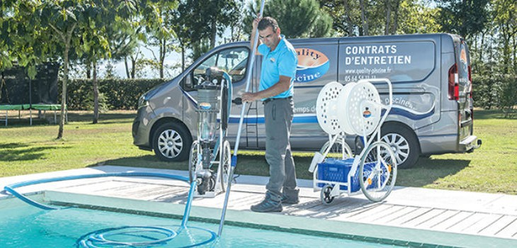 Services de gestion de piscines Quality Piscine